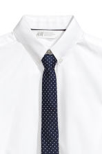 Shirt with a tie/bow tie - White/Tie - Kids | H&M 3